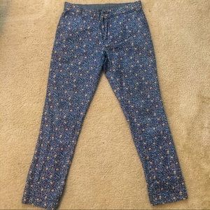 Tommy Hilfiger Blue floral Chino pants